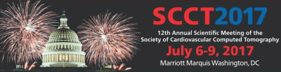 Society Of Cardiovascular CT (SCCT) 2017